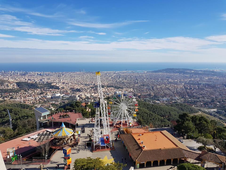 Парк аттракционов на Тибидабо, Барселона