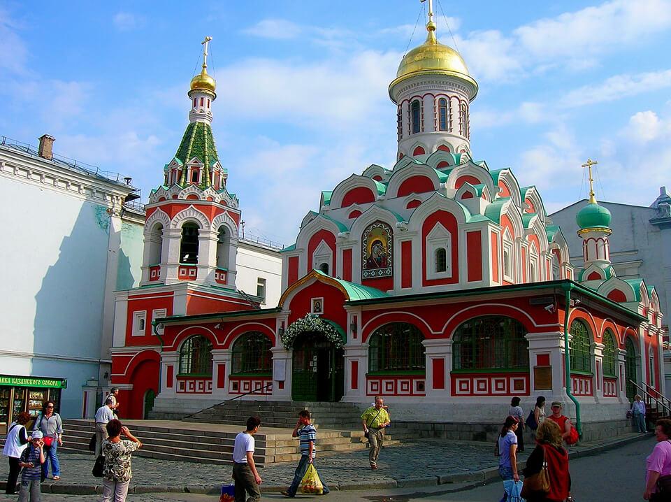 Казанский собор на Красной площади, Москва