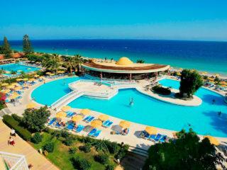 Отели Родоса 4 звезды все включено на первой линии с песчаным пляжем