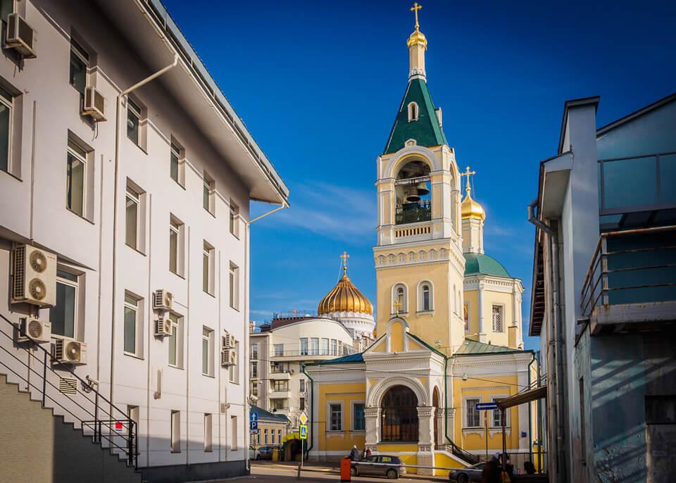 Церковь Ильи Пророка в Обыденском переулке, Москва