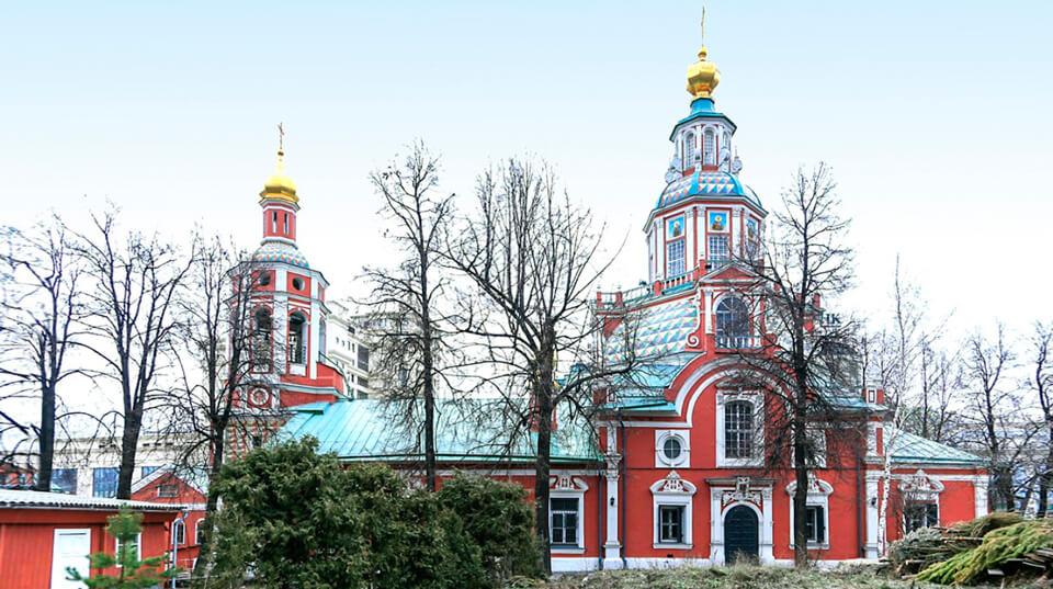 Церковь Иоанна Воина на Якиманке, Москва