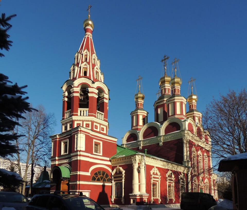 Церковь Михаила Архангела в Тропарёво, Москва