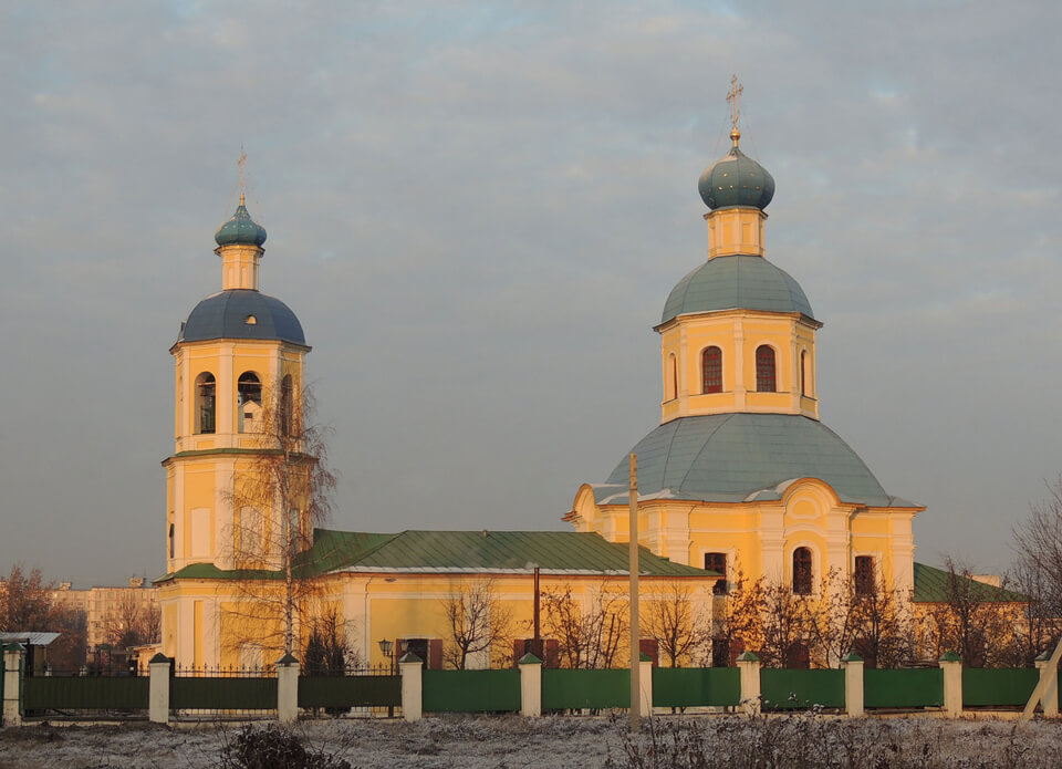 Церковь Петра и Павла в Ясенево, Москва