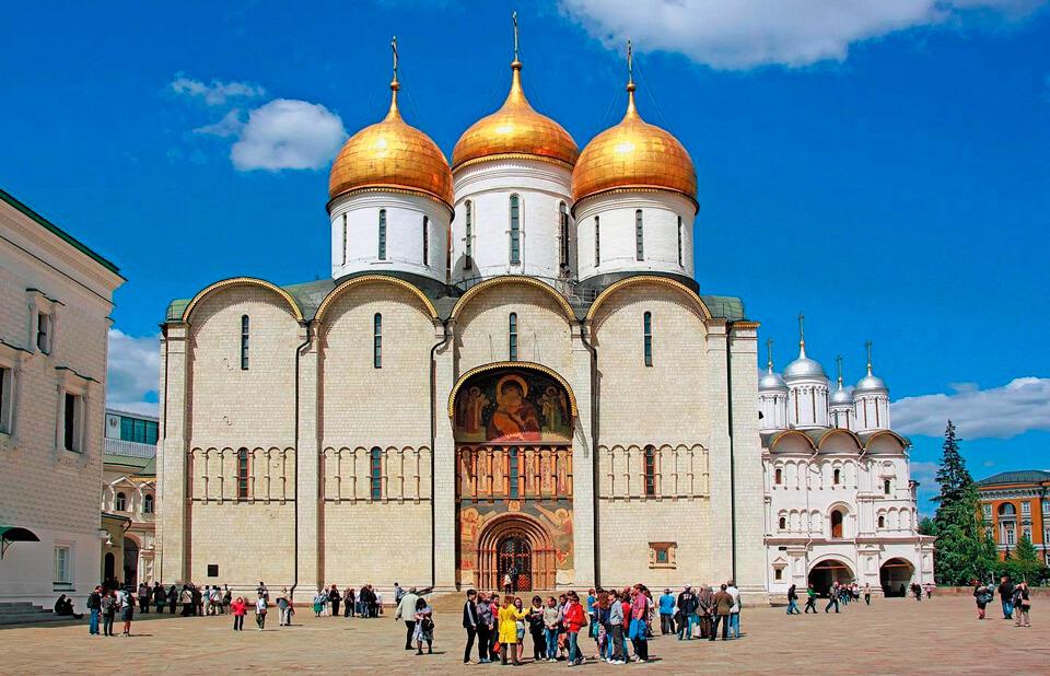 Успенский собор на Соборной площади, Москва