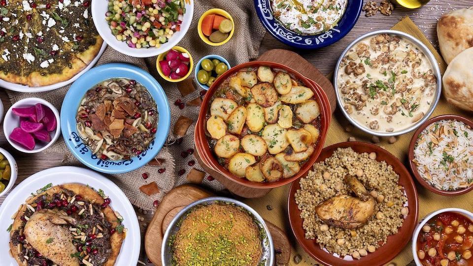 Еда в ОАЭ