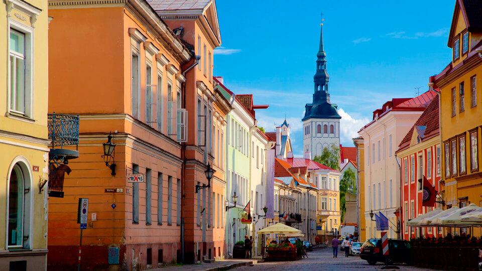 Экскурсия в Таллине, Эстония