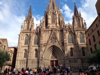 Кафедральный собор Барселоны – собор Святого креста и Святой Евлалии