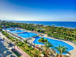Туры в Аланью (Турция) на 10-11 ночей, отели 4 и 5* с водными горками, все включено от 57 753 руб за ДВОИХ – июнь
