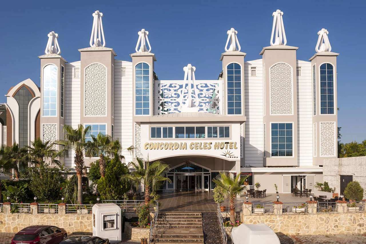 Concordia Celes Hotel 5*, Аланья