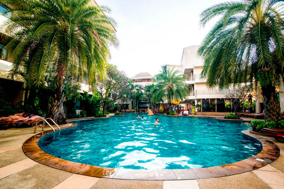 Sea Breeze Jomtien Resort 3*, Джомтьен, Паттайя