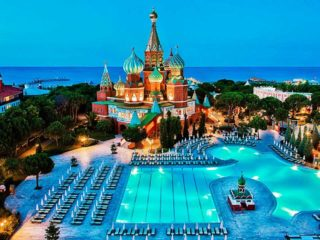 Туры в Турцию на 14 ночей, отели 4 и 5*, 1взр+1реб, все включено от 61 871 руб за ДВОИХ – июнь