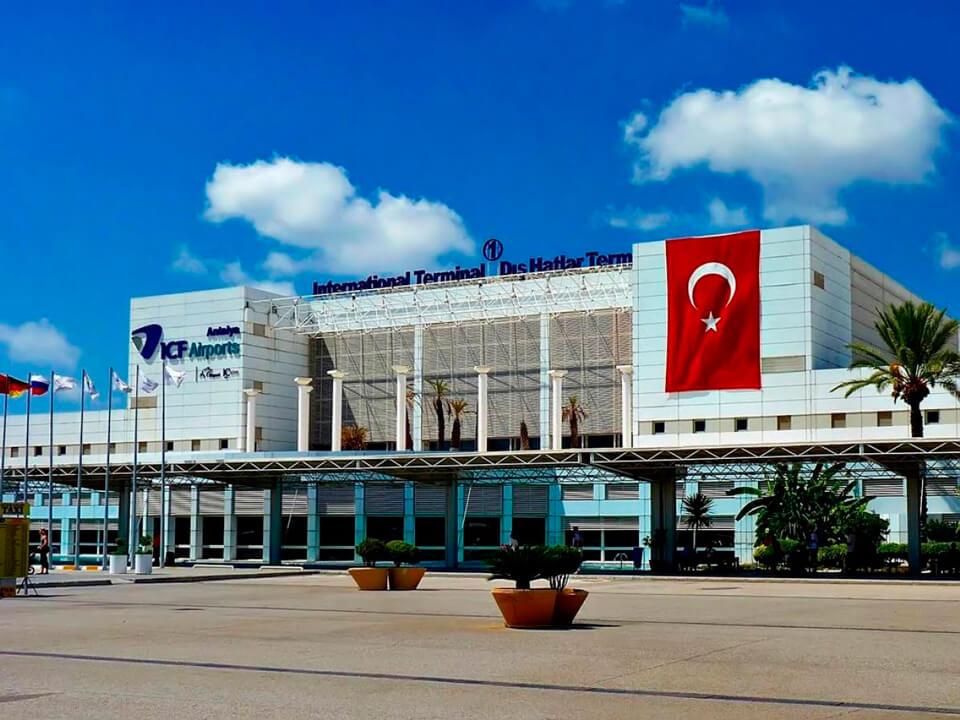 Аэропорт Антальи, Турция
