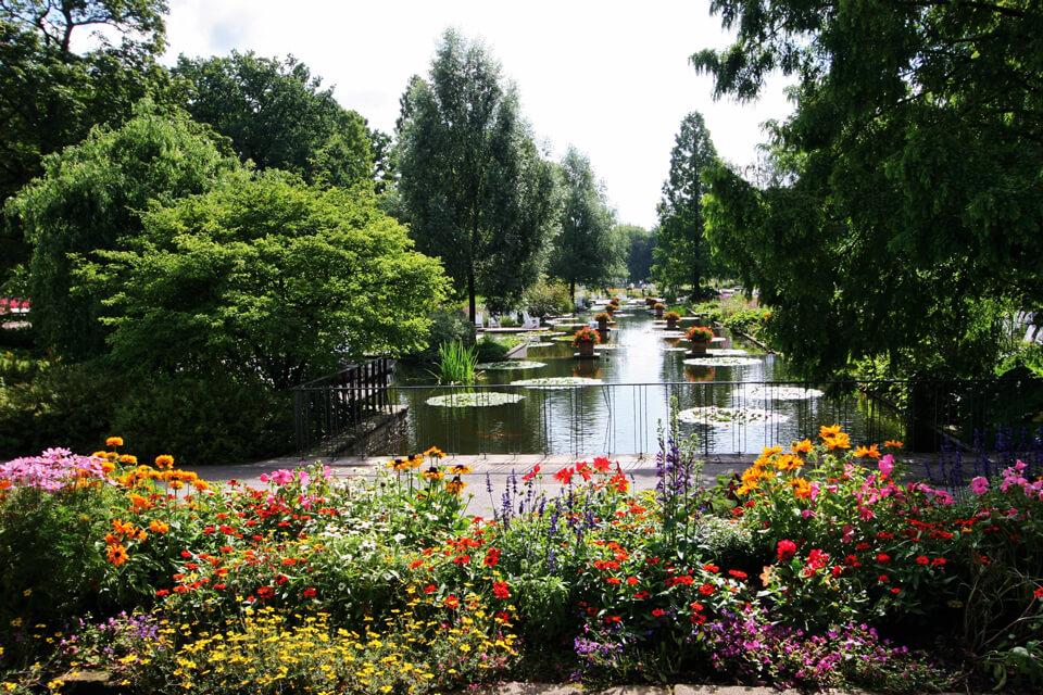 Ботанический сад, Гамбург