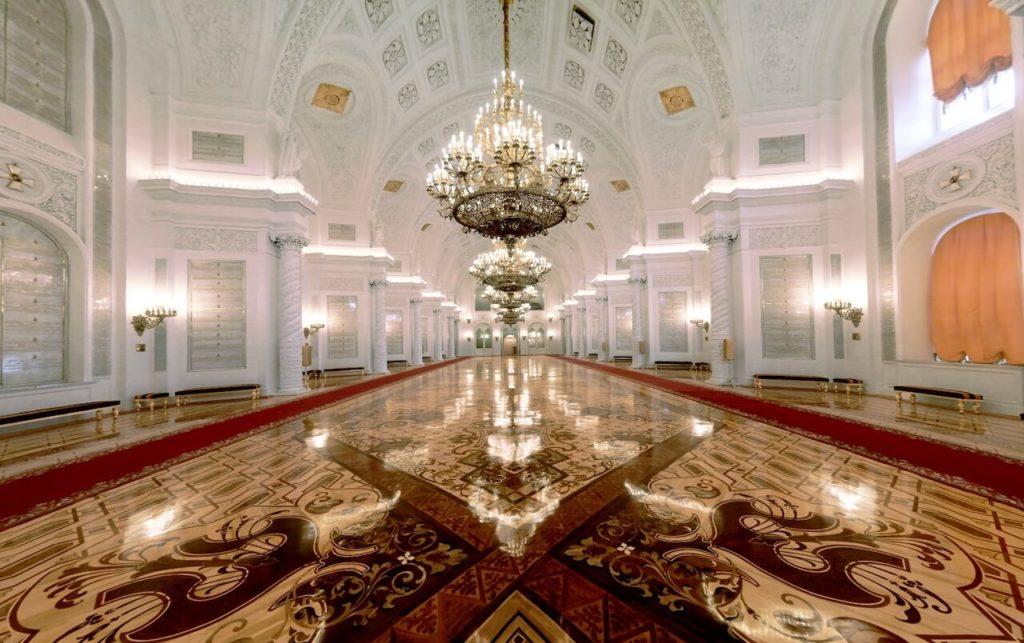 Георгиевский зал, Большой Кремлевский дворец