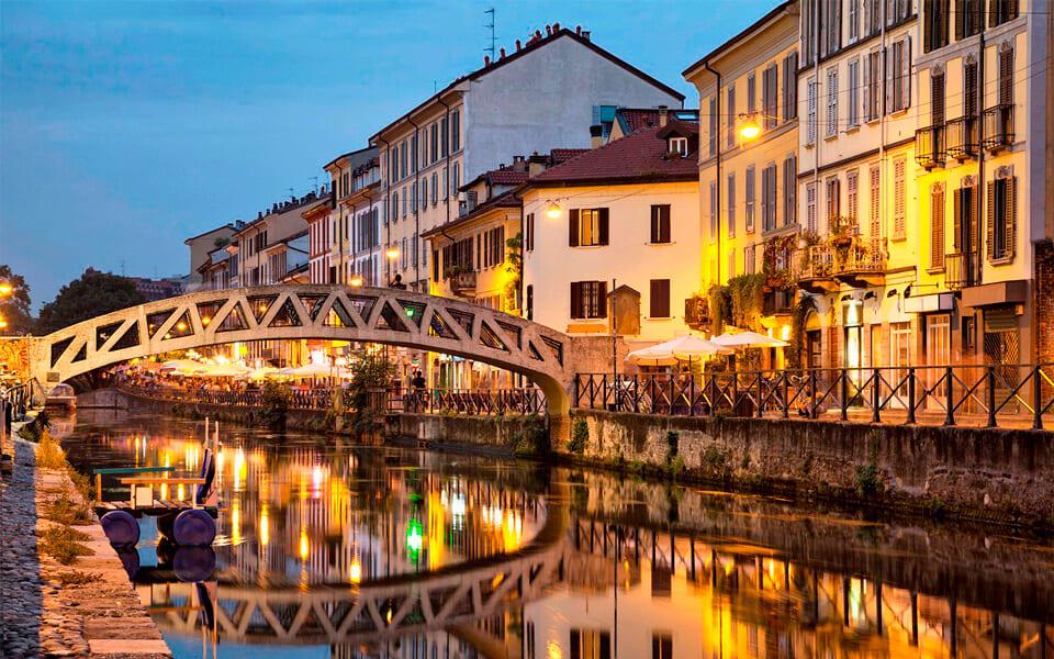 Канал Навильо-Гранде, Милан