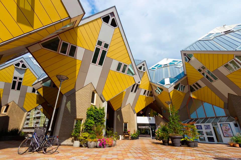Кубические дома , Роттердам