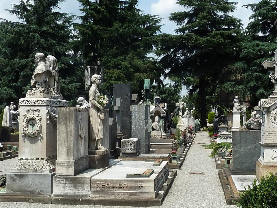 Монументальное кладбище Милана, Милан