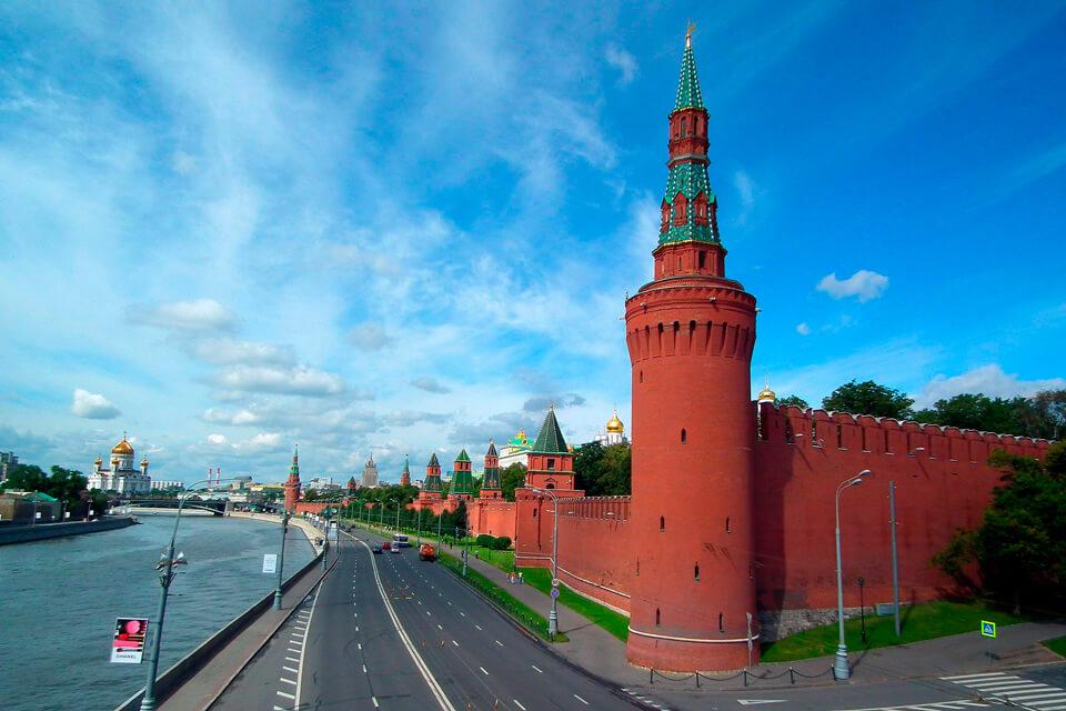 Башни Московского Кремля, Москва