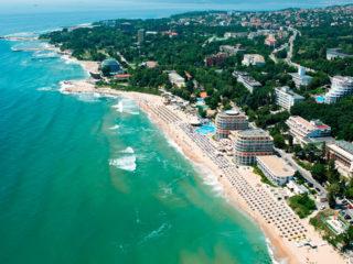 Туры в Болгарию на 9 ночей, 2взр+1реб, отели 3-5*, завтраки+ужины от 75 119 руб за ТРОИХ – август