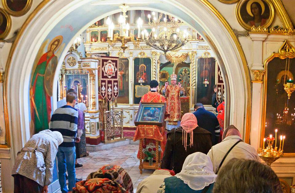 Храм Положения ризы Божией Матери во Влахерне, Москва
