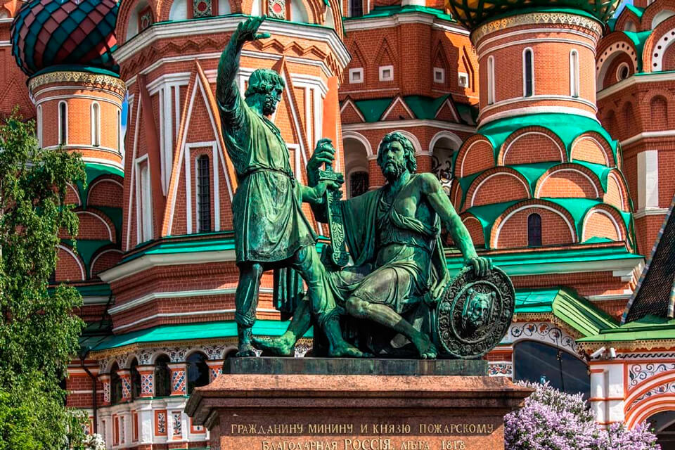 Памятник Кузьме Минину и Дмитрию Пожарскому, Москва