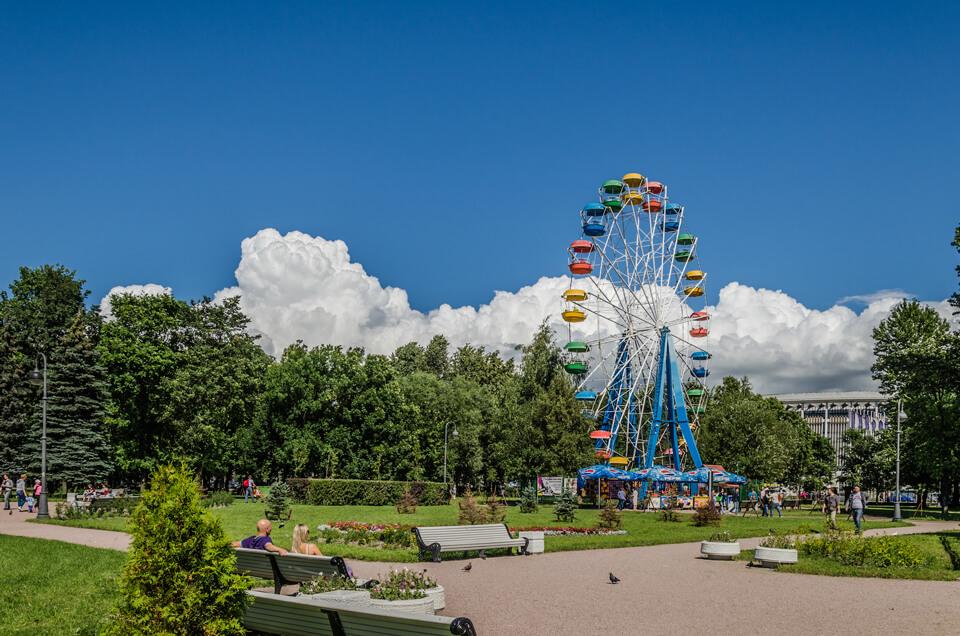 Парк Победы (Московский Парк Победы), Санкт-Петербург