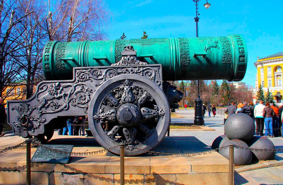 Царь-пушка, Москва