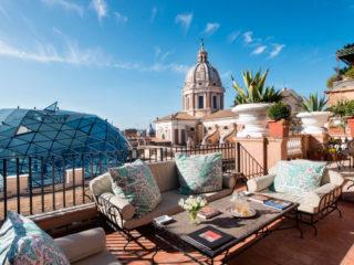 Отели Рима 4 звезды в центре