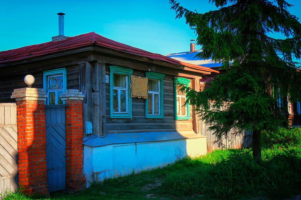 Дом Миши Бальзаминова, Суздаль