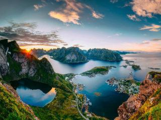 Круизы по Норвежским фьордам на 7-14 ночей, лайнеры 4-5*, полный пансион от 699€