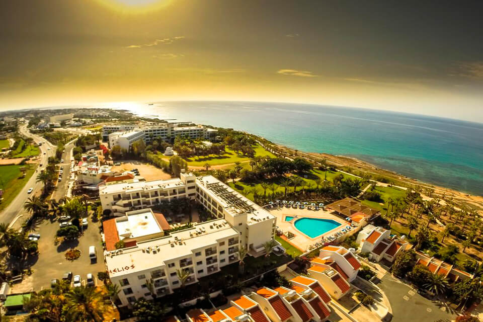 Helios Bay Hotel 3*, Пафос