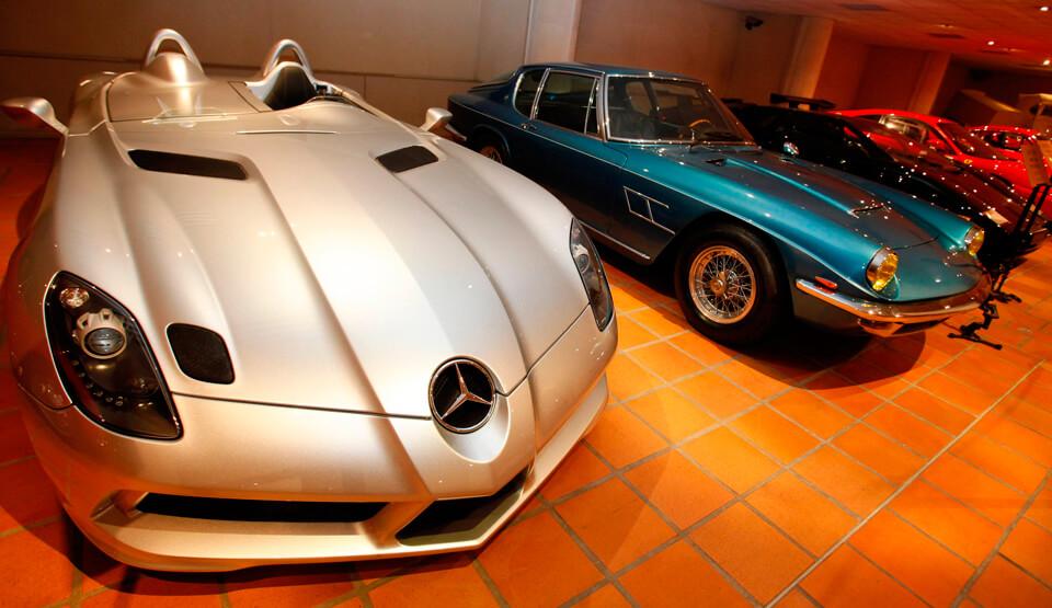 Музей старинных автомобилей принца Ренье III, Монако