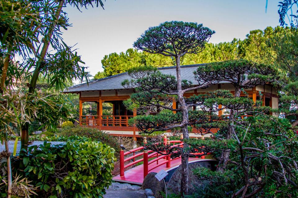 Японский сад в Монте-Карло, Монако