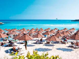 Отели Айя-Напы всё включено с собственным песчаным пляжем