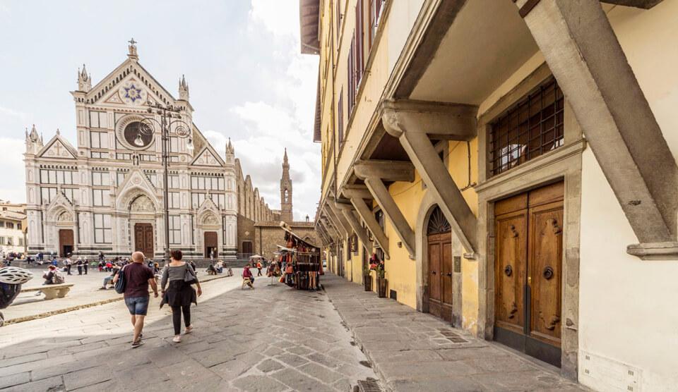 Базилика Санта-Кроче, Флоренция