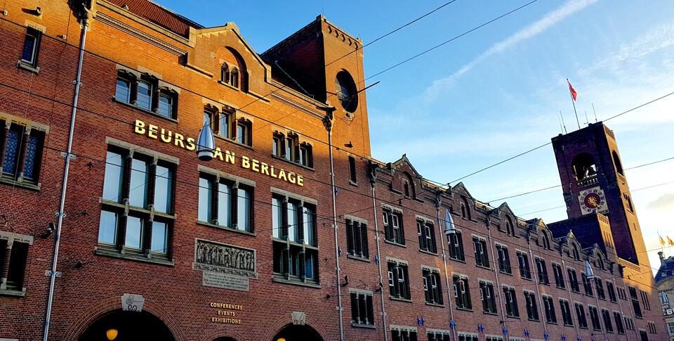 Биржа Берлаге, Амстердам
