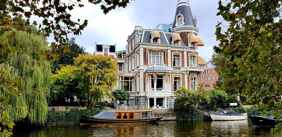 Круиз по каналам, Амстердам