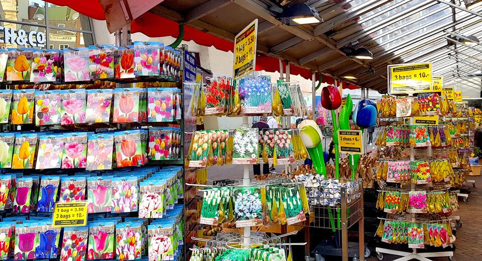 Цветочный рынок, Амстердам