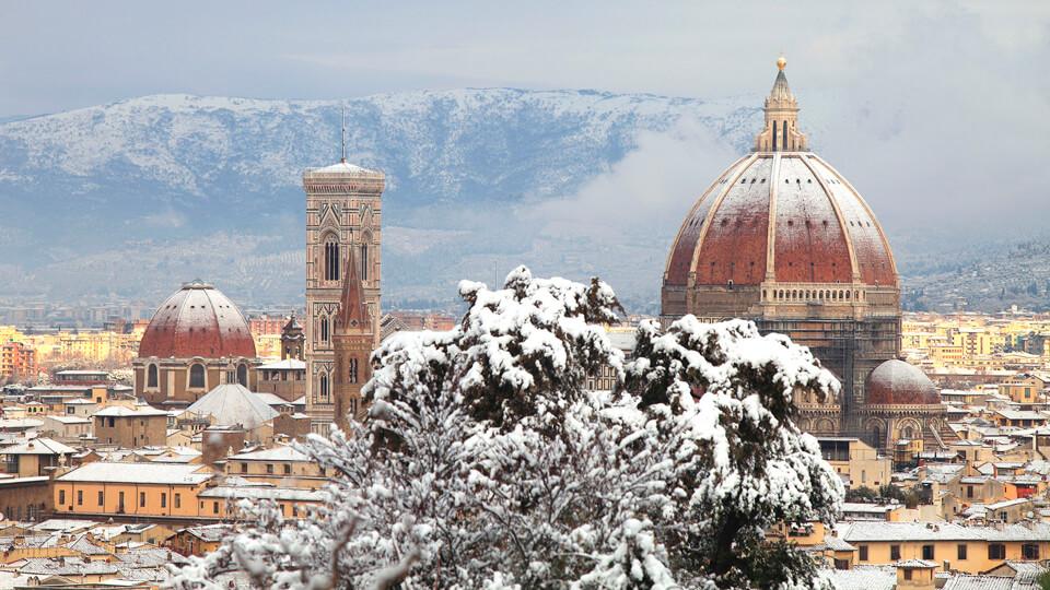 Флоренция зимой