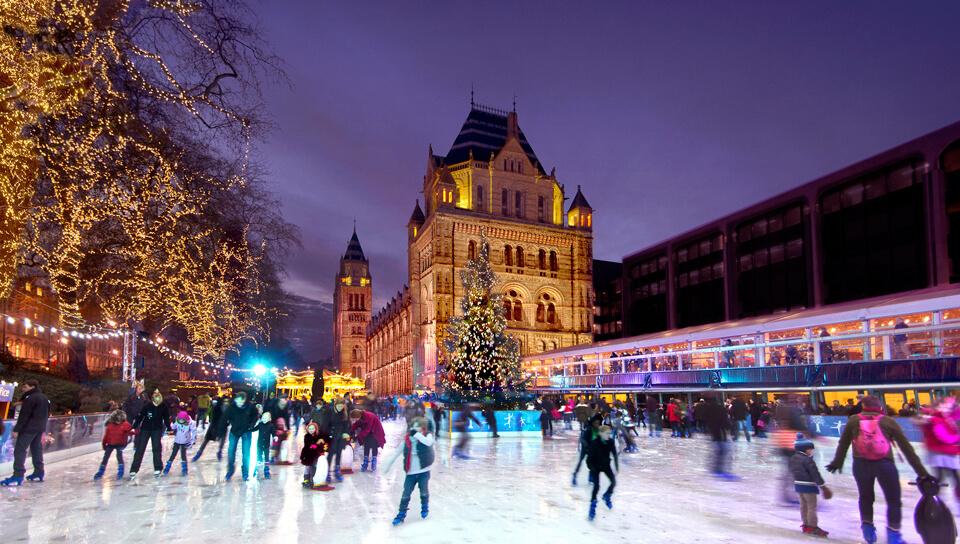 Лондон зимой