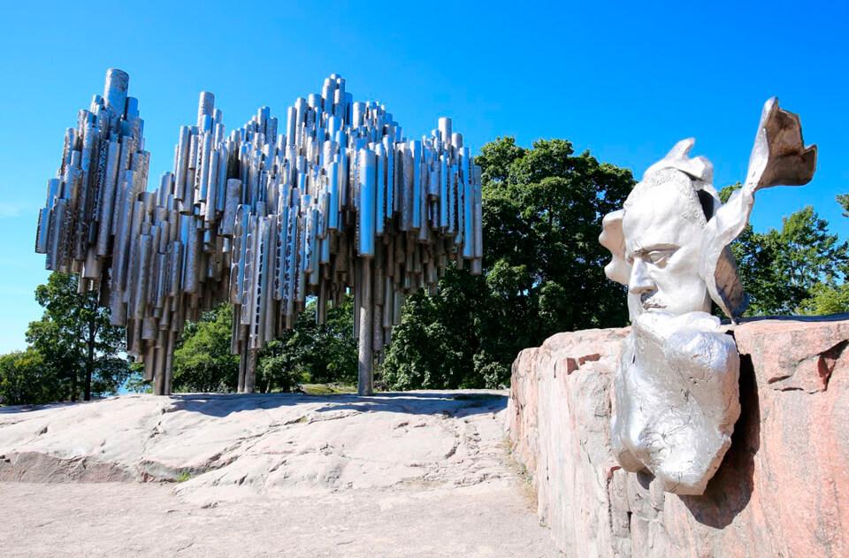 Памятник Сибелиу, Хельсинки