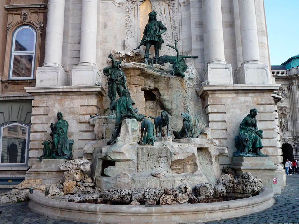 Фонтан короля Матьяша, Будапешт