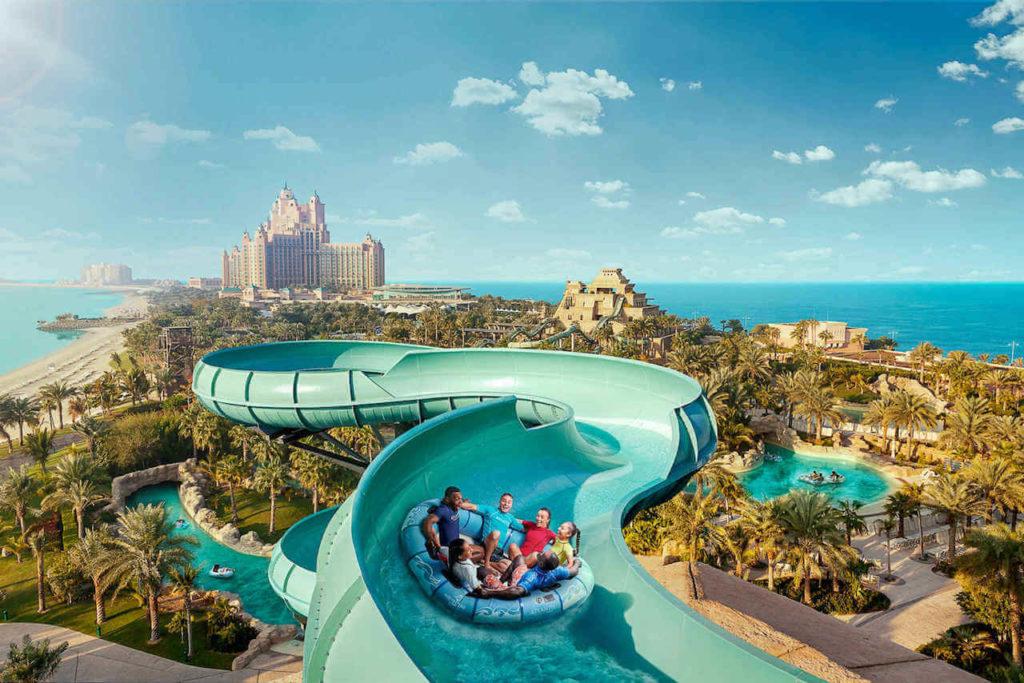Аквапарк Aquaventure, Дубай