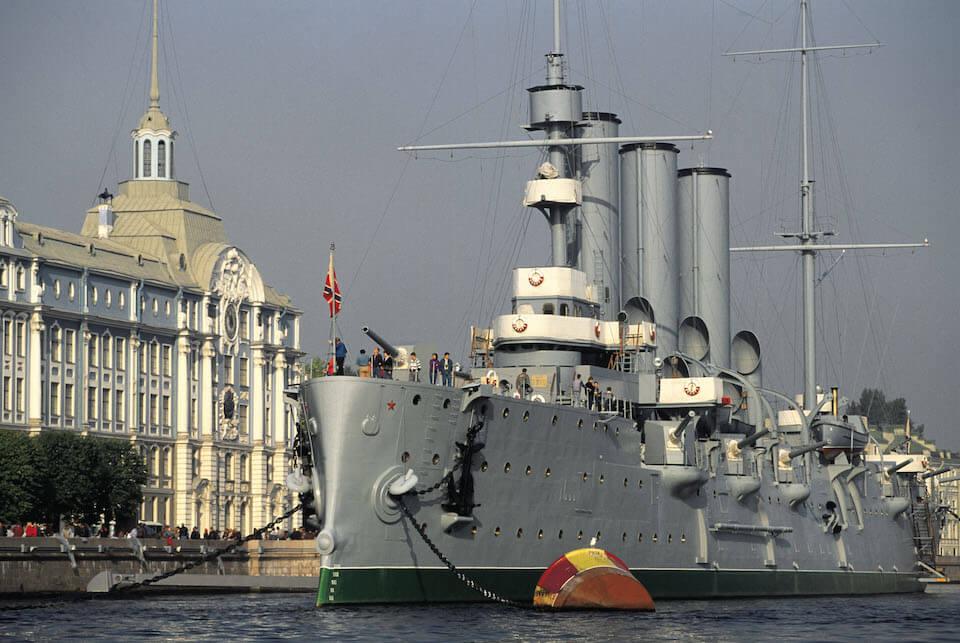 Крейсер Аврора, Санкт-Петербург