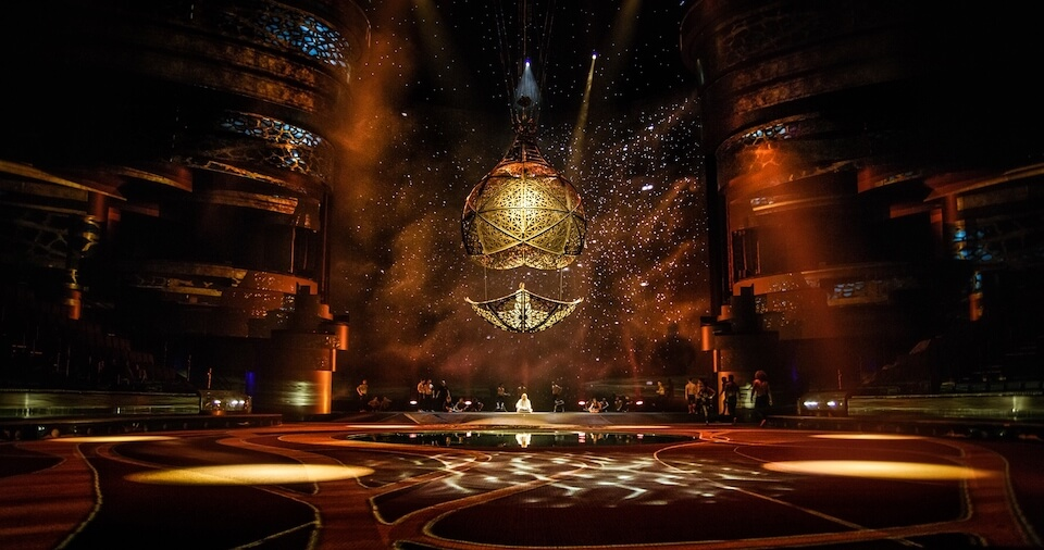 Акватеатр La Perle, Дубай
