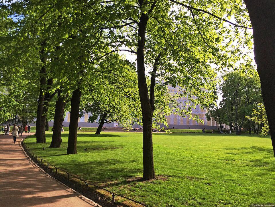 Михайловский сад, Санкт-Петербург