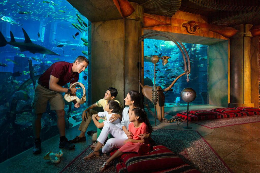 Музей подводного мира The Lost Chambers, Дубай