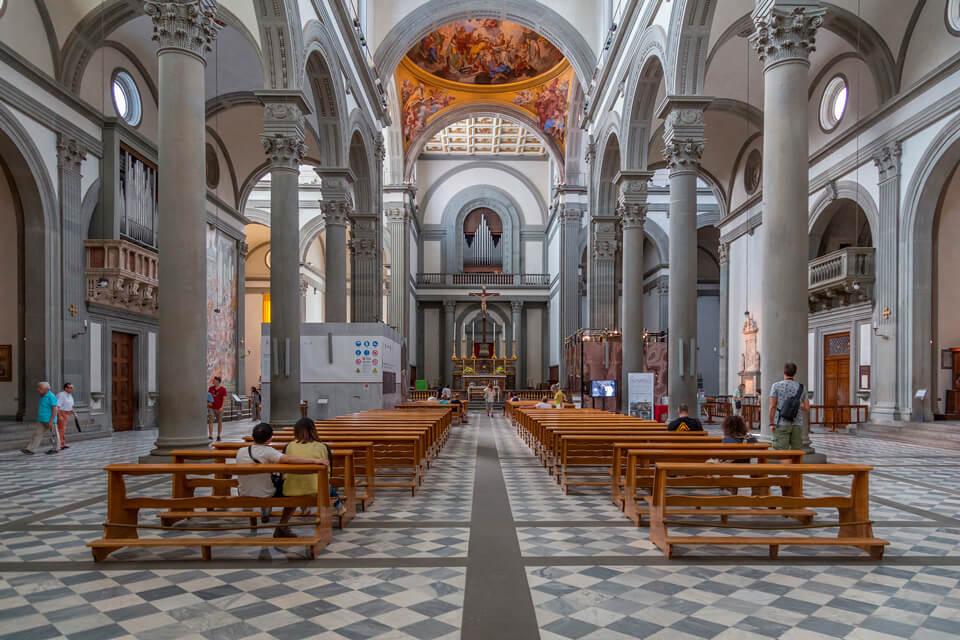 Церковь Сан-Лоренцо, Флоренция