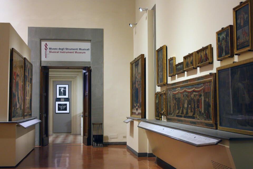 Музей музыкальных инструментов, Академия изящных искусств во Флоренции