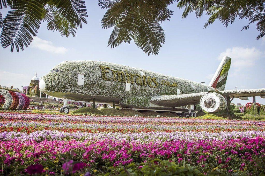 Парк цветов, Дубай
